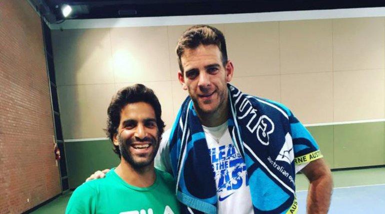 Del Potro y González ganaron en el debut en dobles