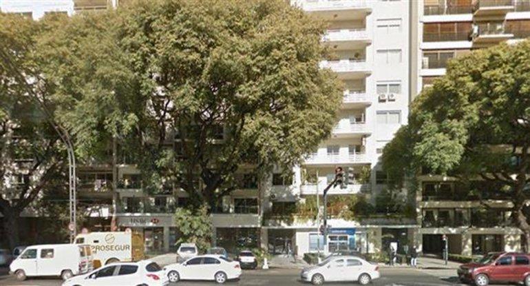 La amenaza de bomba en el departamento de Macri fue el viernes.