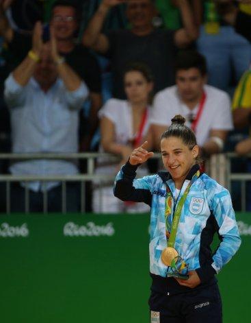 Paula Pareto hizo historia al convertirse en la primera mujer argentina en consagrarse campeona olímpica.