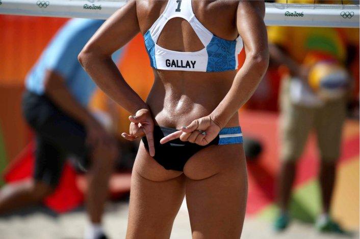 El beach volley arrancó con una derrota ayer en Río.