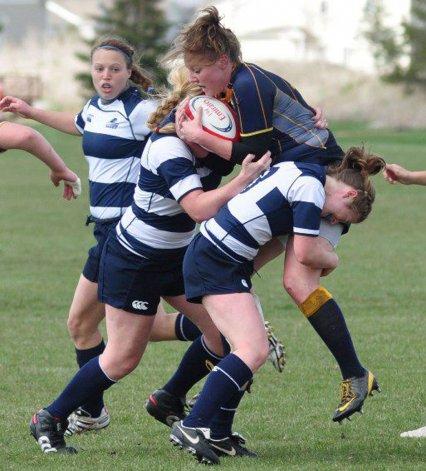 El rugby femenino de la zona vivirá hoy un día histórico en la cancha de Deportivo Portugués.