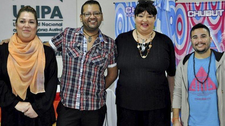 Parte de los asistentes a la jornada sobre diversidad de género organizada por el municipio de Caleta Olivia.