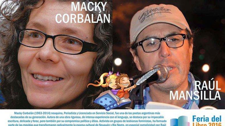 Macky Corbalán fue recordada el viernes con un documental presentado por el poeta Raúl Mansilla.