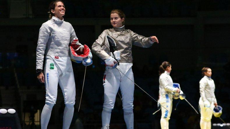 María Belén Pérez Maurice se despidió rápido en la esgrima
