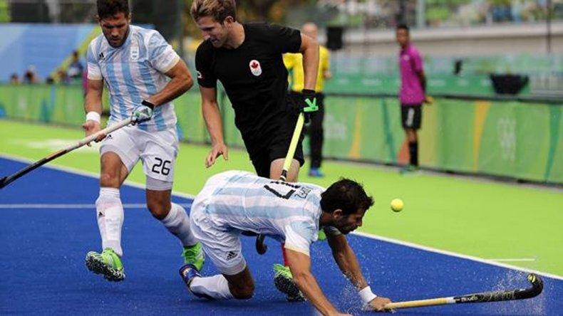 Los Leones lograron ayer su primera victoria en los Juegos de Río y sueñan con la clasificación.