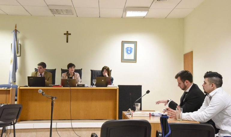 Nahuel Uranga recibió una pena de diez años por el homicidio en ocasión de robo de Tenorio Torrico.