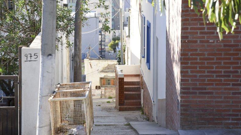 Este domicilio de la calle Urquiza fue uno de los allanados en Comodoro Rivadavia.