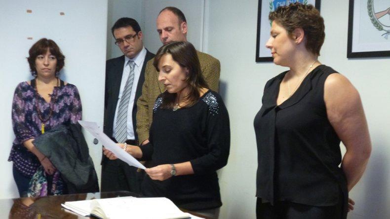 Silvana Serer, nueva funcionaria fiscal