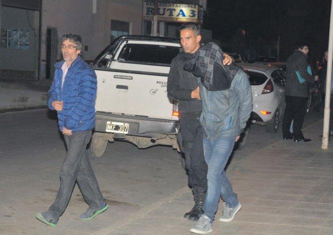 El conductor del Chevrolet Corsa permanece detenido y se negó a prestar declaración indagatoria. (Foto: Alcides Quiroga)