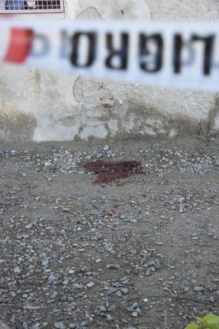 El sitio donde Miguel Miranda fue atacado el 16 de julio.