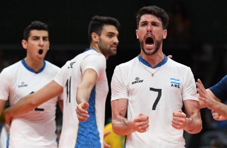 Argentina logró un histórico triunfo frente al último campeón olímpico