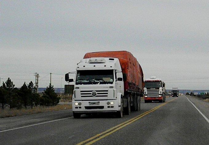 Persiguieron a camionero que manejaba borracho en ruta 3