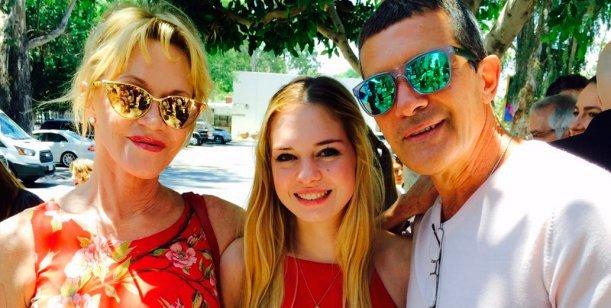 Ex con buena onda: el saludo de cumpleaños de Antonio Banderas a Melanie Griffith