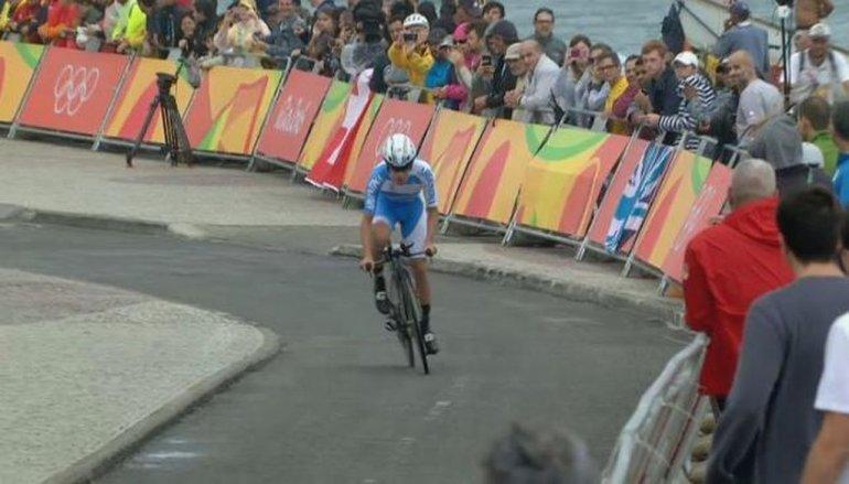 El chubutense Sepúlveda terminó 26º en la prueba contrarreloj