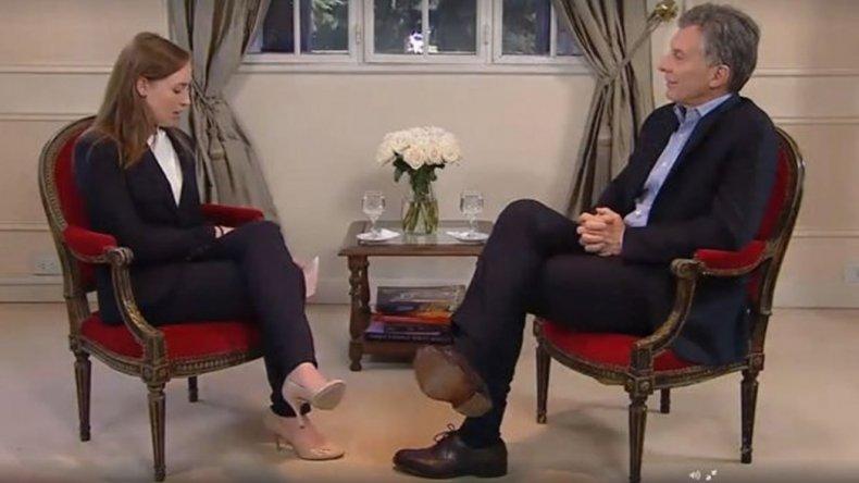 Macri fue entrevistado por el sitio estadounidense BuzzFeed.
