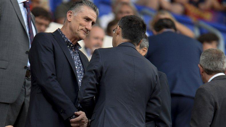 Edgardo Bauza pretende hablar tranquilo con Messi