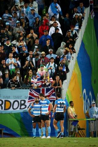 La tristeza de los jugadores argentinos