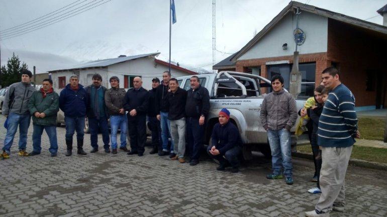 Por primera vez la subcomisaría de la aldea Atilio Viglione recibió un móvil