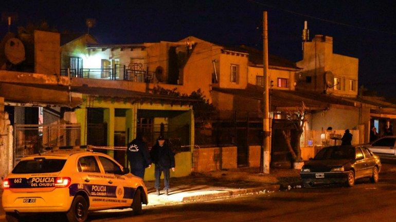 La vivienda de Joaquín Suárez cuando todavía permanecía con custodia policial por temor a represalias.