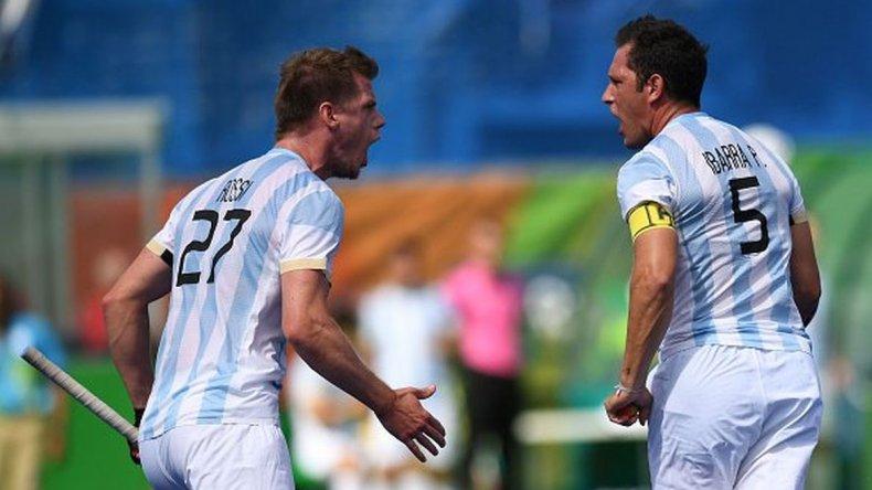 Los Leones empataron con Alemania en un vibrante partido