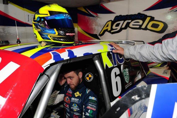 Marcelo Agrelo está listo para salir a la pista en el autódromo de Rafaela.