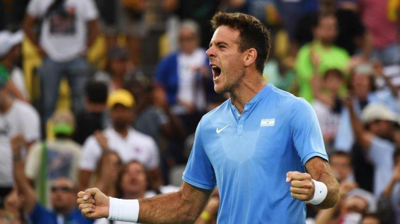 Del Potro se enfrentará a Nadal en semifinales