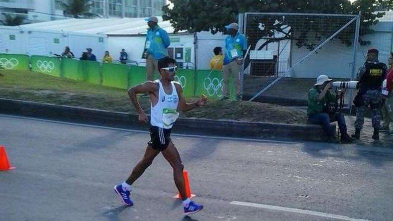 Juan Cano terminó lejos de los puestos de vanguardia en la prueba de marcha.