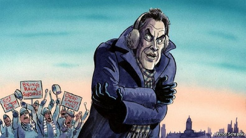 La nota de The Economist contra Macri: Hace frío afuera