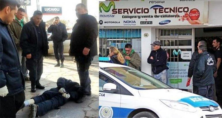 Preso con salida transitoria asaltó a una mujer con un arma de juguete