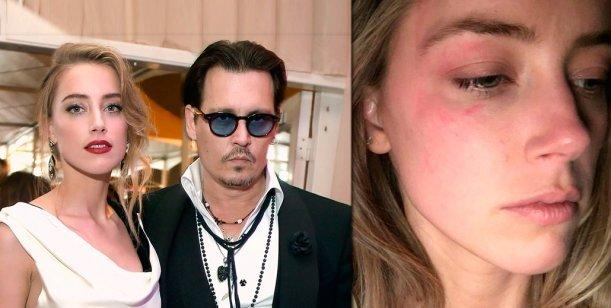 Se filtró un video de Johnny Depp agrediendo a su ex esposa Amber Heard