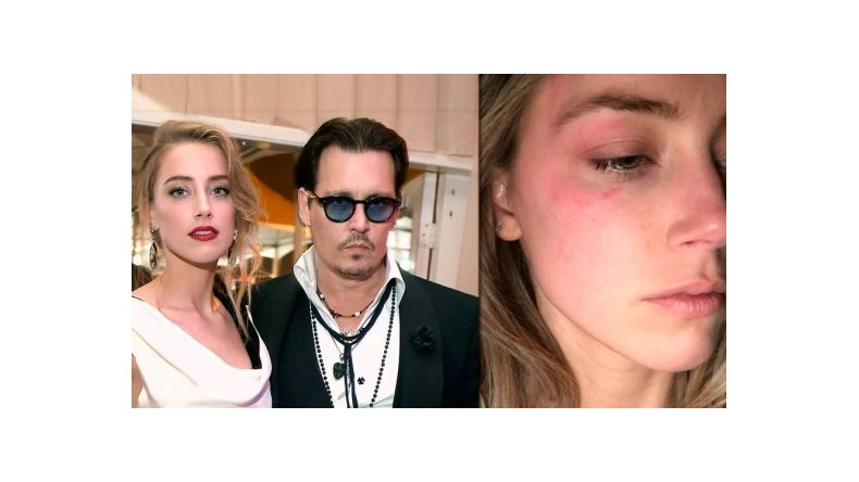 Se filtró un video de Johnny Depp agrediendo a su ex esposa Amber Heard