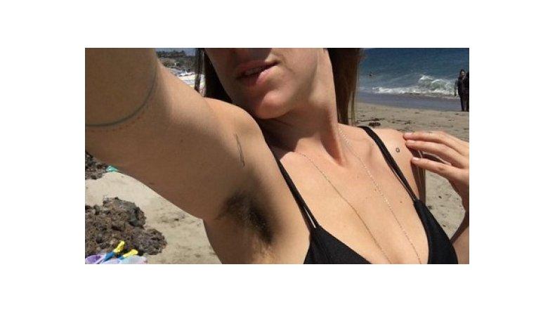 La hija de Demi Moore y Bruce Willis no se depila las axilas
