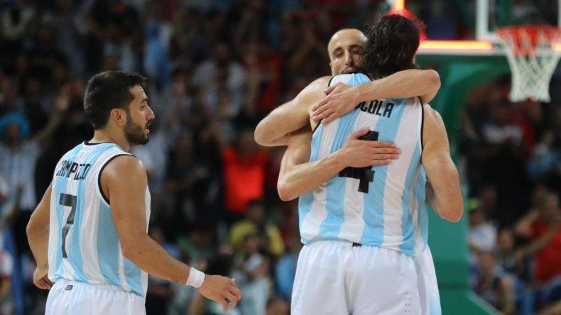 Argentina venció a Brasil y se clasificó a cuartos de final