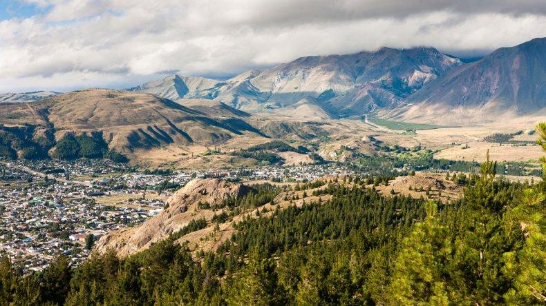 Gracias a la geografía de Esquel y sus alrededores se pueden apreciar hermosas panorámicas.