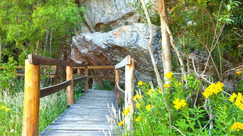 Los escenarios naturales privilegiados desde la estepa hasta la Cordillera de los Andes