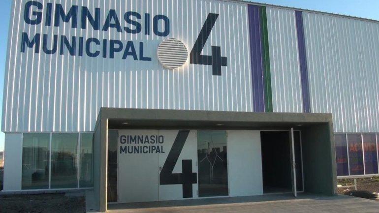 El gimnasio municipal 4 permitirá cubrir la demanda de amplios sectores de la zona norte.