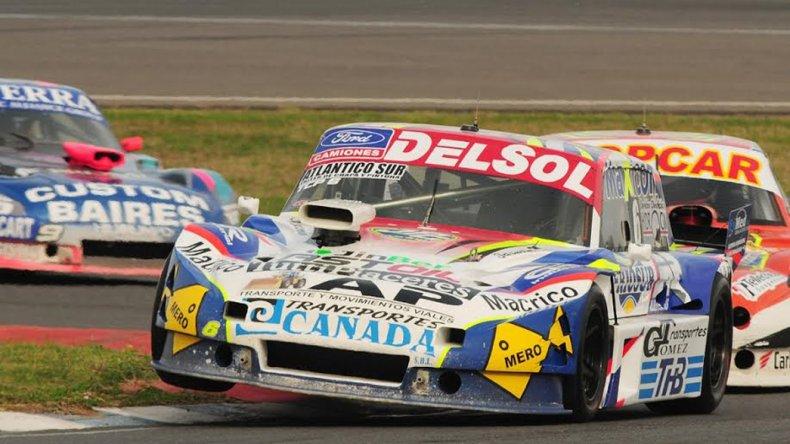 Marcelo Agrelo terminó quinto en la segunda serie que se corrió ayer en el óvalo de Rafaela.