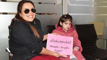 Carola Vera y su hija Micaela. Una lucha que no cesa.