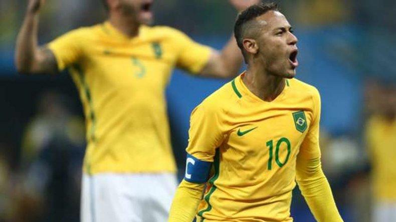 Brasil le ganó a Colombia y sueña con su primer oro en fútbol