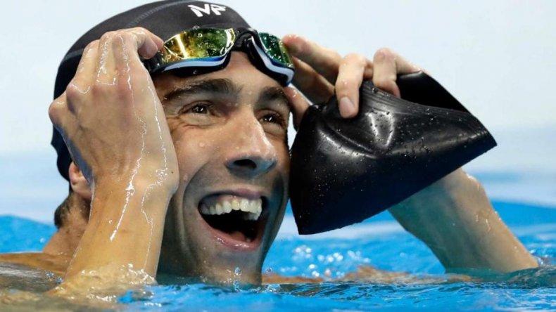 Phelps se despidió con la 23° medalla de oro en su historial