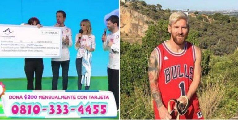 El gran aporte de Lionel Messi para Un sol para los Chicos