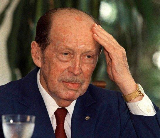 Alfredo Stroessner murió el 16 de agosto de 2006 en Brasil.