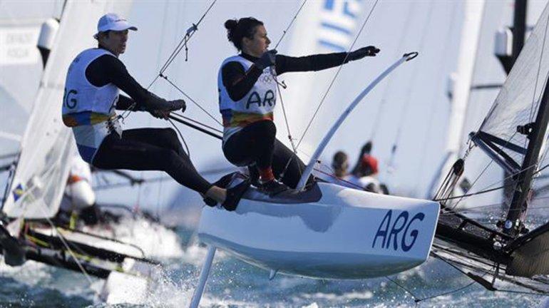 El binomio argentino Santiago Lange-Cecilia Carranza Saroli sueña con el oro en los Juegos de Río.