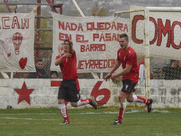 Jeremías Asencio aportó sacrificio y gol para la victoria de Huracán ante CAI en el barrio Industrial.