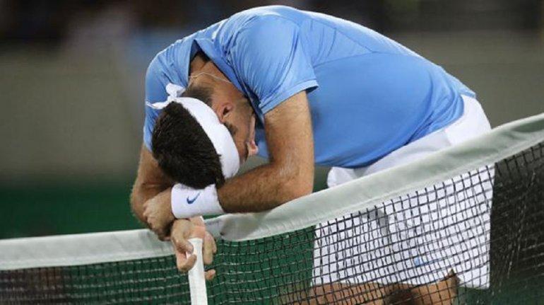 Del Potro  perdió ante Murray y se quedó con la medalla de plata