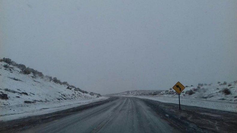 La ruta 26, en el tramo Sarmiento-Comodoro también quedó habilitada esta mañana