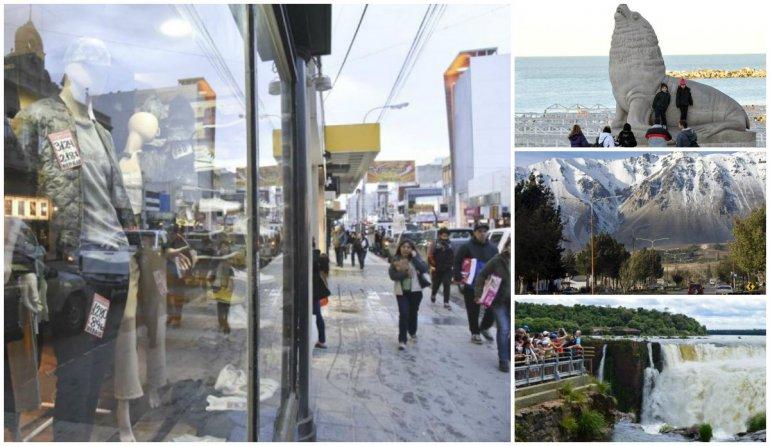 Poco movimiento de turistas y bajas ventas en el fin de semana largo