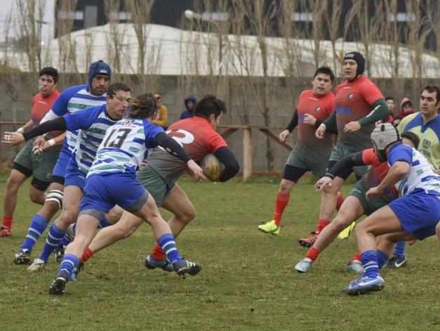 El rugby mayor comenzó a jugar el torneo Regional Patagónico en sus zonas Campeonato