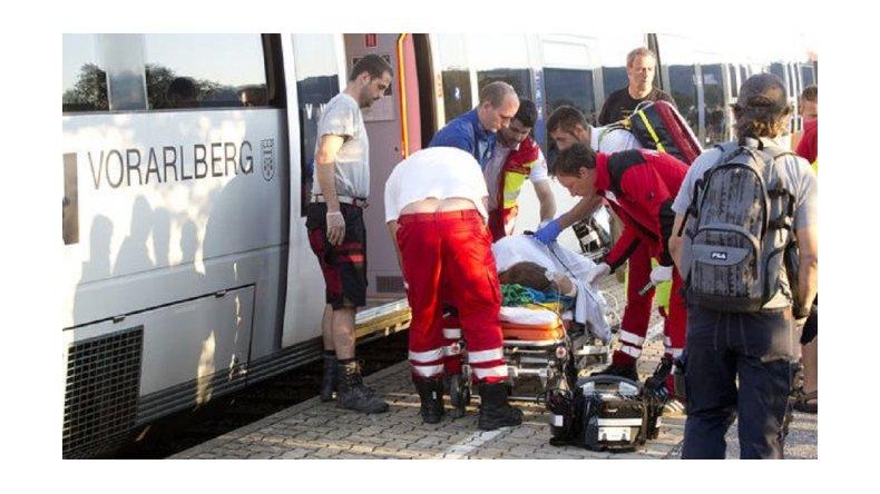 Otro ataque a cuchilladas en un tren europeo: ahora fue en Austria