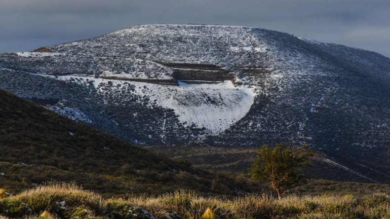 Lluvia, nevadas y temperaturas bajo cero
